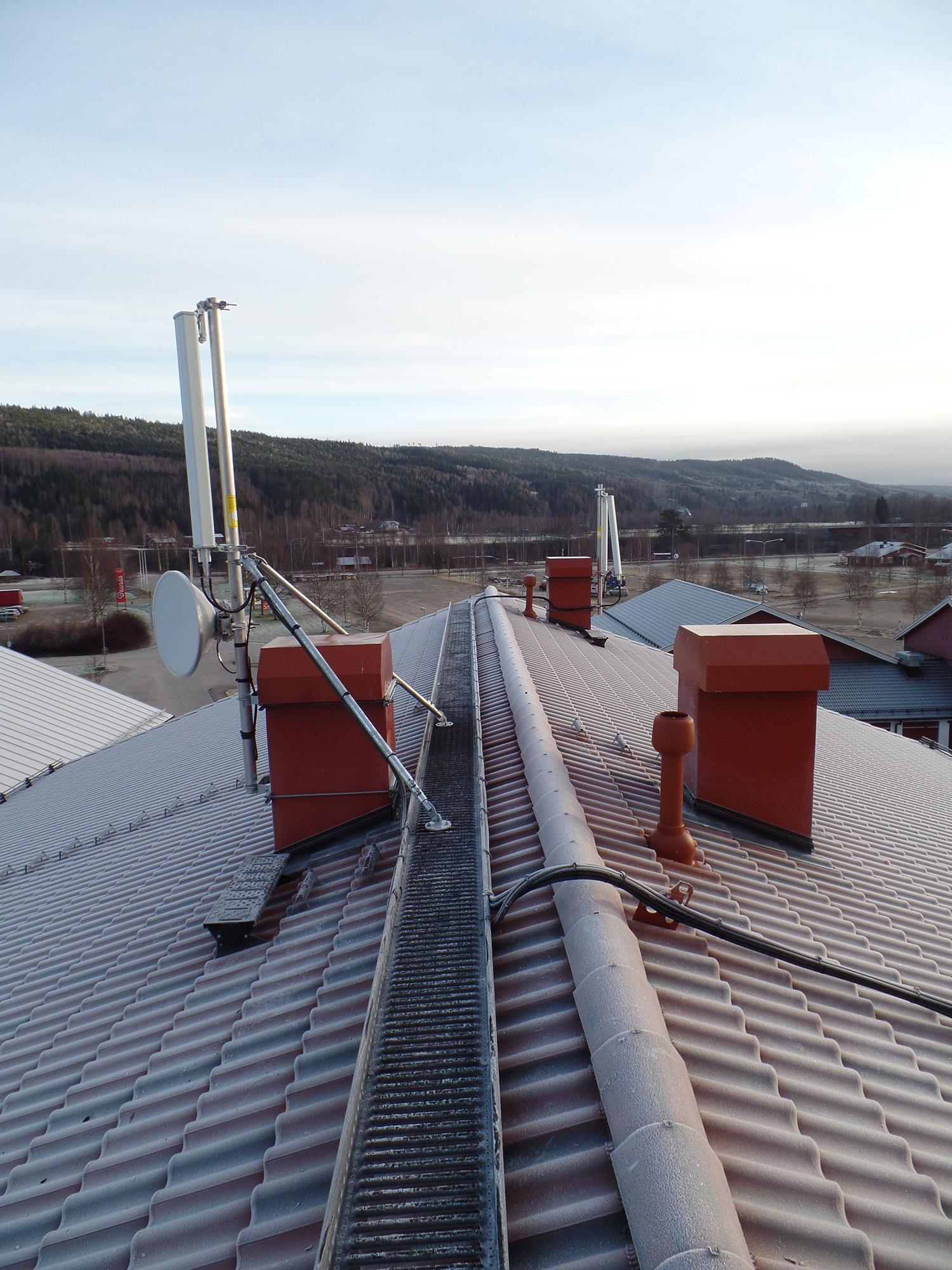 Antennmontage tak 2