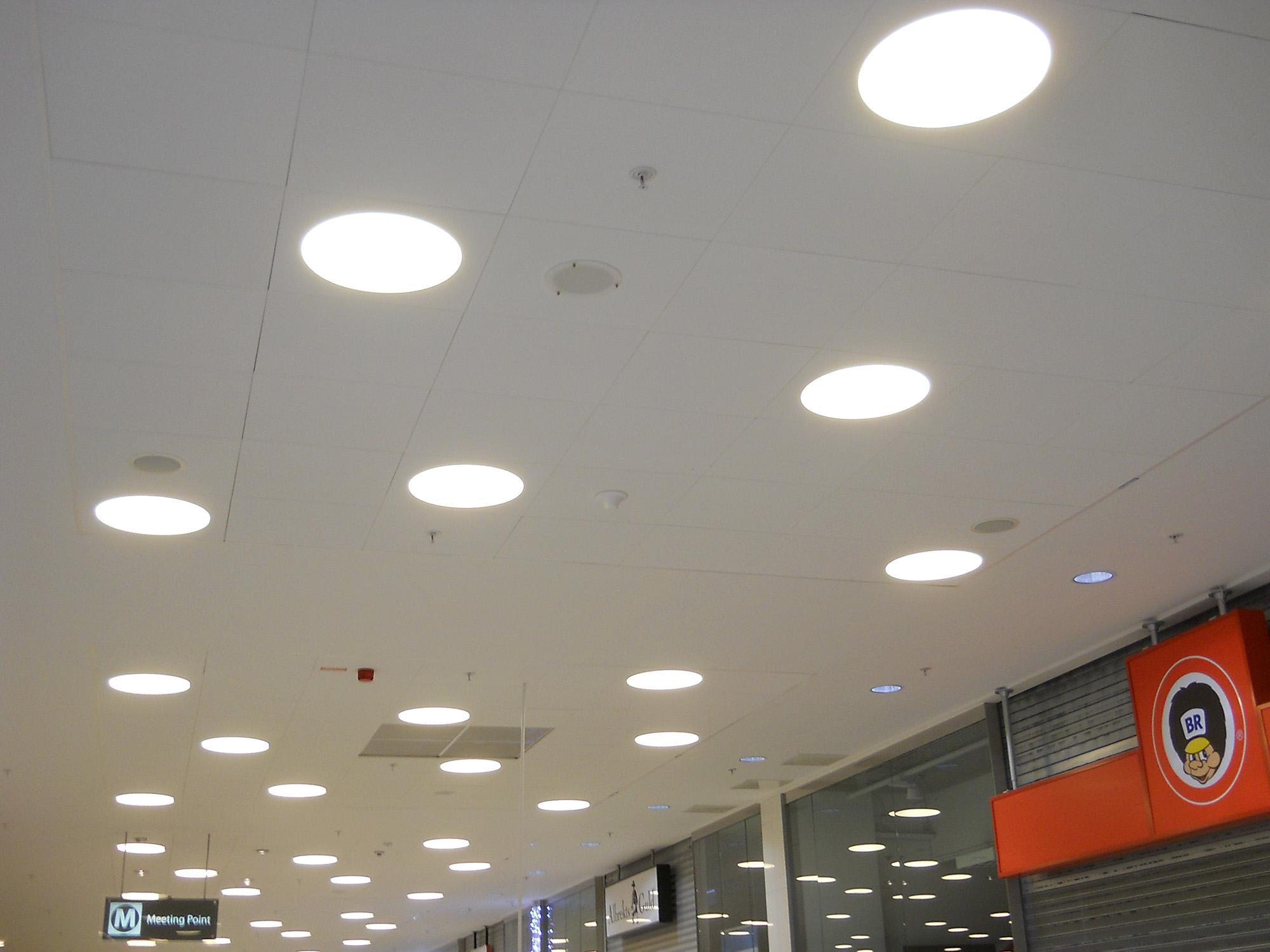 Omniantenn inomhustäckning köpcentrum 2
